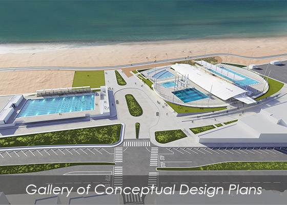 Proposed Belmont Pool Complex